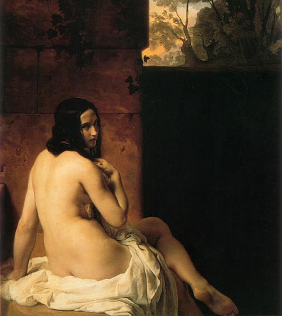 francesco hayez - suzanne 1850